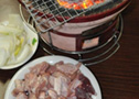 Shio Horumon (salted pig intestines)